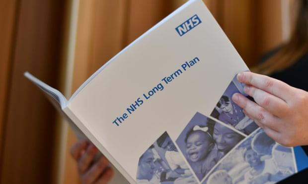 NHS long term plan urine specimen testing