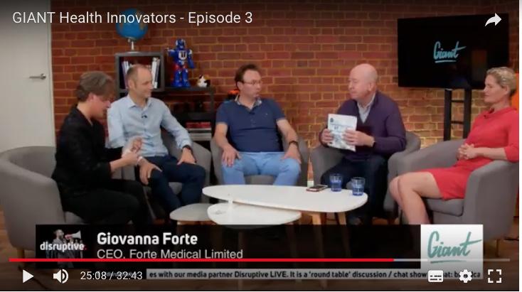 Giovanna Forte on TV