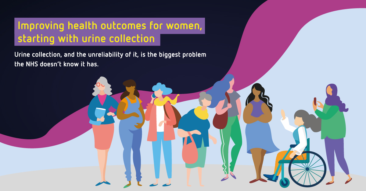 Improving health for women urine collection